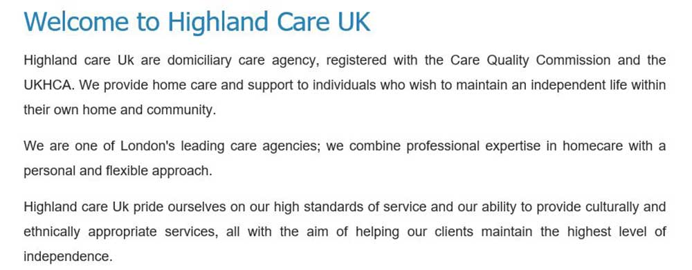 Highland Care